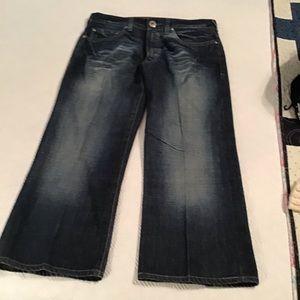 Denim Jeans Guess Mens Cliff Boot Cut Size 32